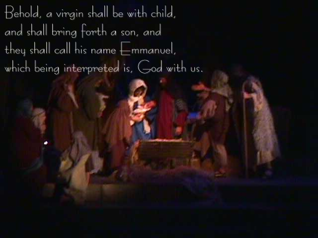 The Story Of The Birth Of Christ Jesus from The Holy Bible (NIV)